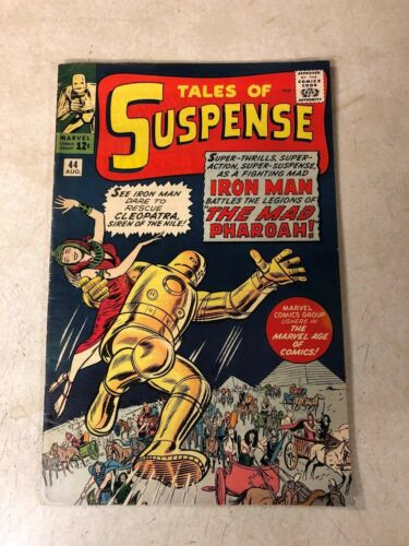 Tales of Suspense #44 KEY ISSUE early IRON MAN Mad Pharoah STAN LEE Cleopatra