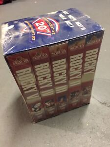 New Rocky VHS Collectors Set / shrink wrapped | $5