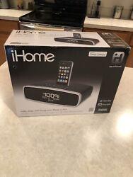iHome iA90Dual Alarm Clock Radio for iPhone / iPod Excellent Sound/Condition