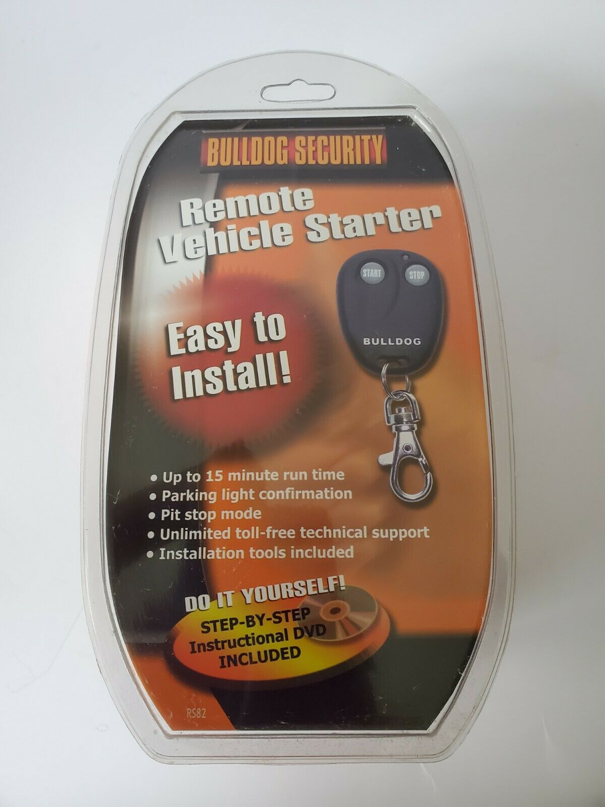 Bulldog RS82-I Do It Yourself Remote Starter - Automatic Tra