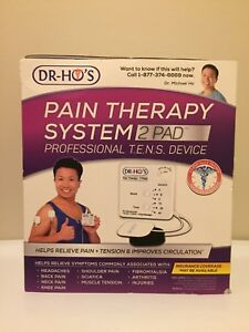 Dr-Hos 2-pad pain therapy system! Professional T.E.N.S device!