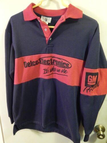 UAW_USA Delco Electronics ~ General Motors Promo [Size: Med/Lg] Vtg Sweatshirt