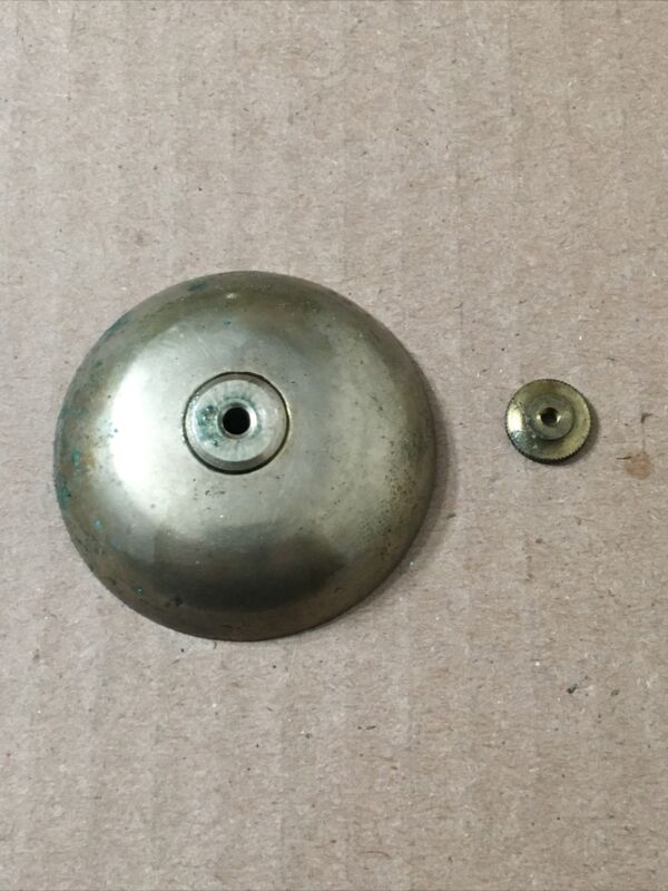 Antique Japy Freres French Mantle Clock Strike Bell w/ mounting nut part