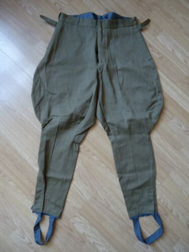 = Soviet Army Khakki nobody used Breeches (marked 1953, Stalin death year) =