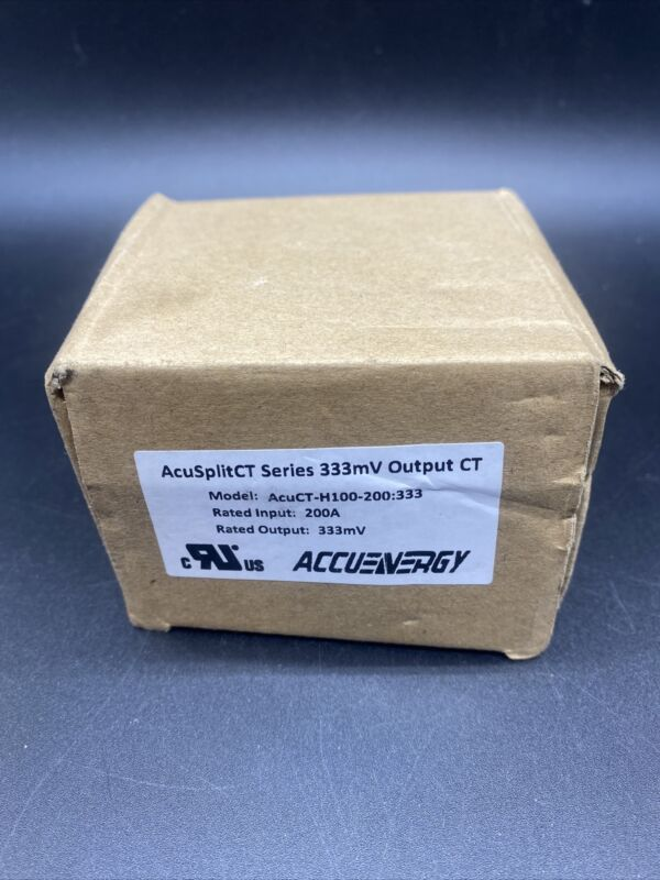 Accuenergy AcuSplitCT Series 333mv Output Current Transformer AcuCT-H100-200:333