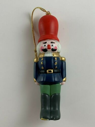 Enesco Nutcracker Soldier Christmas Ornament 1987