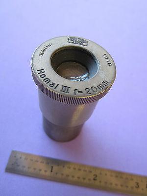 Microscope Eyepiece Carl Zeiss Jena Germany Homal Iii