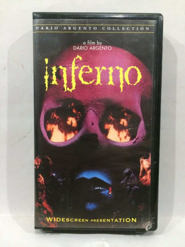 Inferno (VHS, 2000, Widescreen - Clamshell)