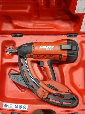 Hilti Gx-100 Gas Actuated Nail Gun With Case