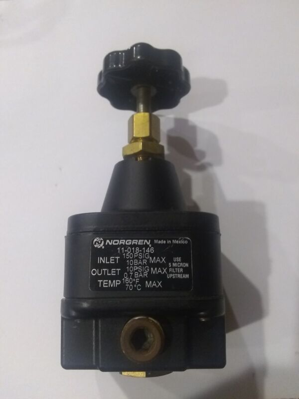 Norgren pressure regulator model 11-018-146