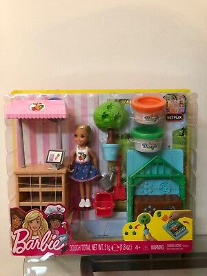 Barbie Chelsea Play Doh Garden