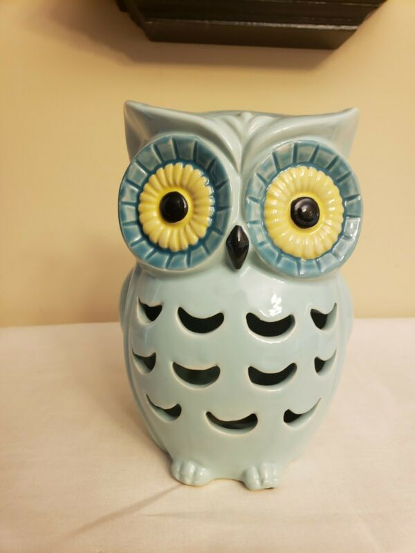 Decorative Stoneware / Ceramic Owl Figure