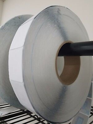 25000 Rf 8.2 Mhz Labels Size 38x42mm Checkpoint Compatible White 1k Per Roll