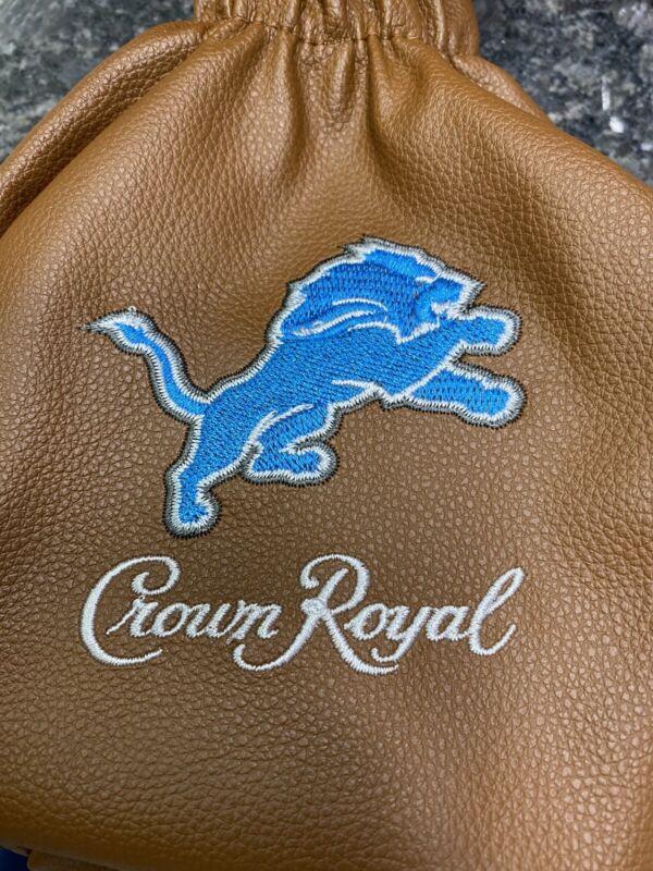 Crown Royal NFL Lions Bag