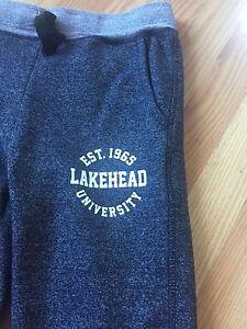 LAKEHEAD UNIVERSITY sweats. XS