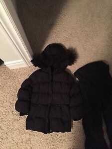 Gap Girls 5T Black Puffer Coat & Snowpants