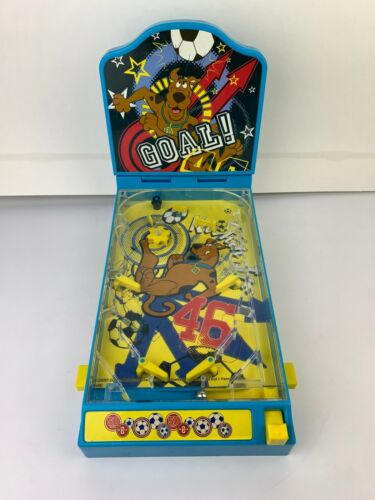Vintage Scooby-Doo Goal! Tabletop Pinball Machine Toy Game