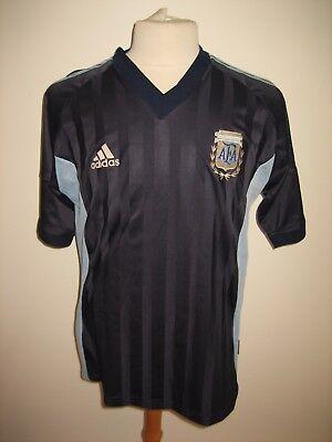 32b244f22 Argentina away AFA football shirt soccer jersey maillot trikot camiseta  size L