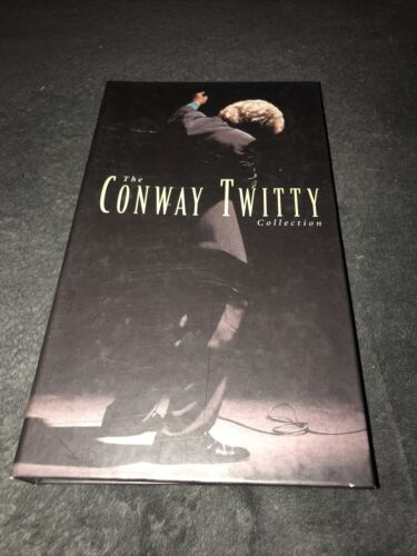 The Conway Twitty Collection 1994 Mca Records 4 Disc Box Set - $29.59