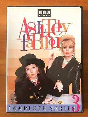 Absolutely Fabulous - Series 3 (DVD, 2005) BBC Video - Very Good Condition