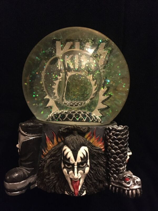 Kiss Snow Globe 1997. Displayed Only. Excellent Condition.