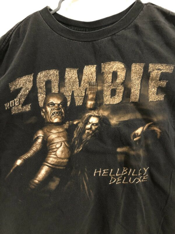 Rob Zombie Hellbilly Deluxe 1998-99 Tour Tshirt, Rock, Devil's Rejects Size XL