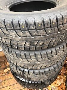 Used studded tire