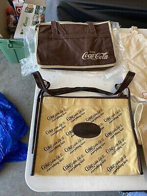 Vintage Coca-Cola Bags Lot Of 11
