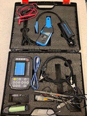 Ado102 Automotive Handheld Digital Storage Oscilloscope Multimeter Dual Channels