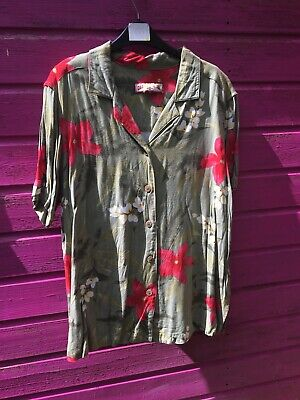 vintage hawaiian shirt L