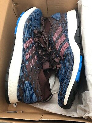 Adidas Pure Boost RBL CM8311 Night Red Trace Blue Marathon Running Shoes Size 12