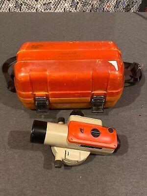 Pentax Afl-240 Autofocus Level W Hard Storage Case Used Free Ship