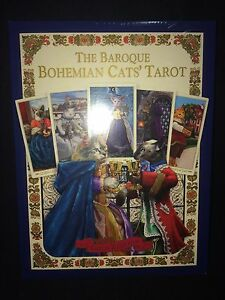 Baroque Bohemian Cats tarot.  Limited gold edition.  Oop!!
