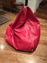King Kahuna huge beanbag leather Beaumaris Bayside Area Preview