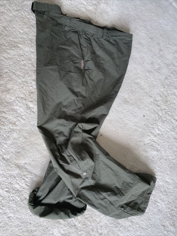 Womens Paramo Lightweight Cargo Pants Trousers labeled Large But Approx Size 14