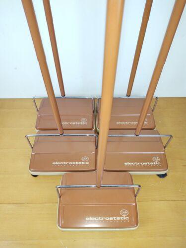 "Set of 5 Fuller Brush Electrostatic Hard Floor & Carpet Sweeper 9"" Sweep Path"