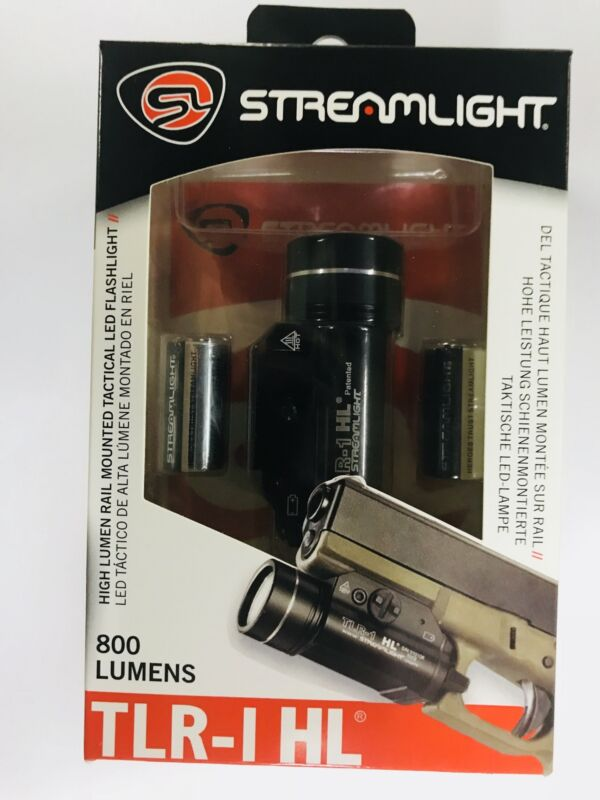 New Streamlight 69260 Gun Rail Mounted TLR-1 HL 800 Lumen LED Flashlight Light
