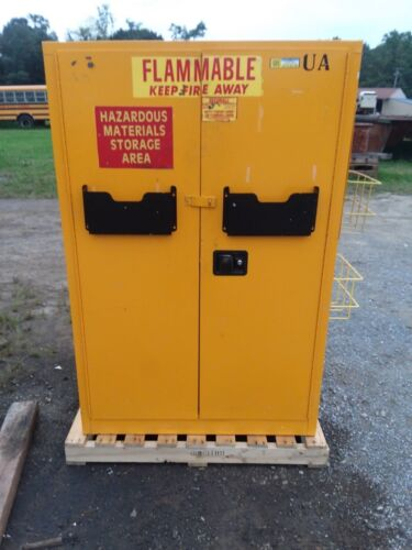 SECURALL A145 45 GALLON FLAMMABLE SAFETY CABINET