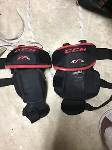 Youth hockey and goalie gear