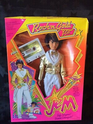 Jem And The Holograms - Hasbro 1980s - Rio Rock N Gold Doll, NRFB