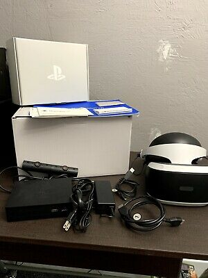 Sony PlayStation VR PS4 Virtual Reality Headset Core Bundle | PS PSVR CUH-ZVR2