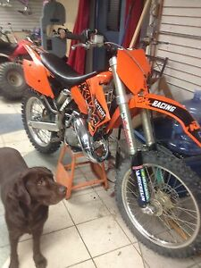 Ktm 125 sx fresh top bottom rebuild