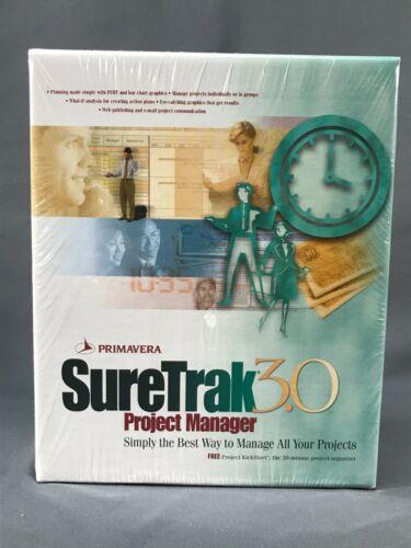 Primavera SureTrak Project Manager 3.0 Software New Unopened