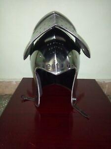 Medieval Knight Armor Crusader New Templar Helmet Helm with liner