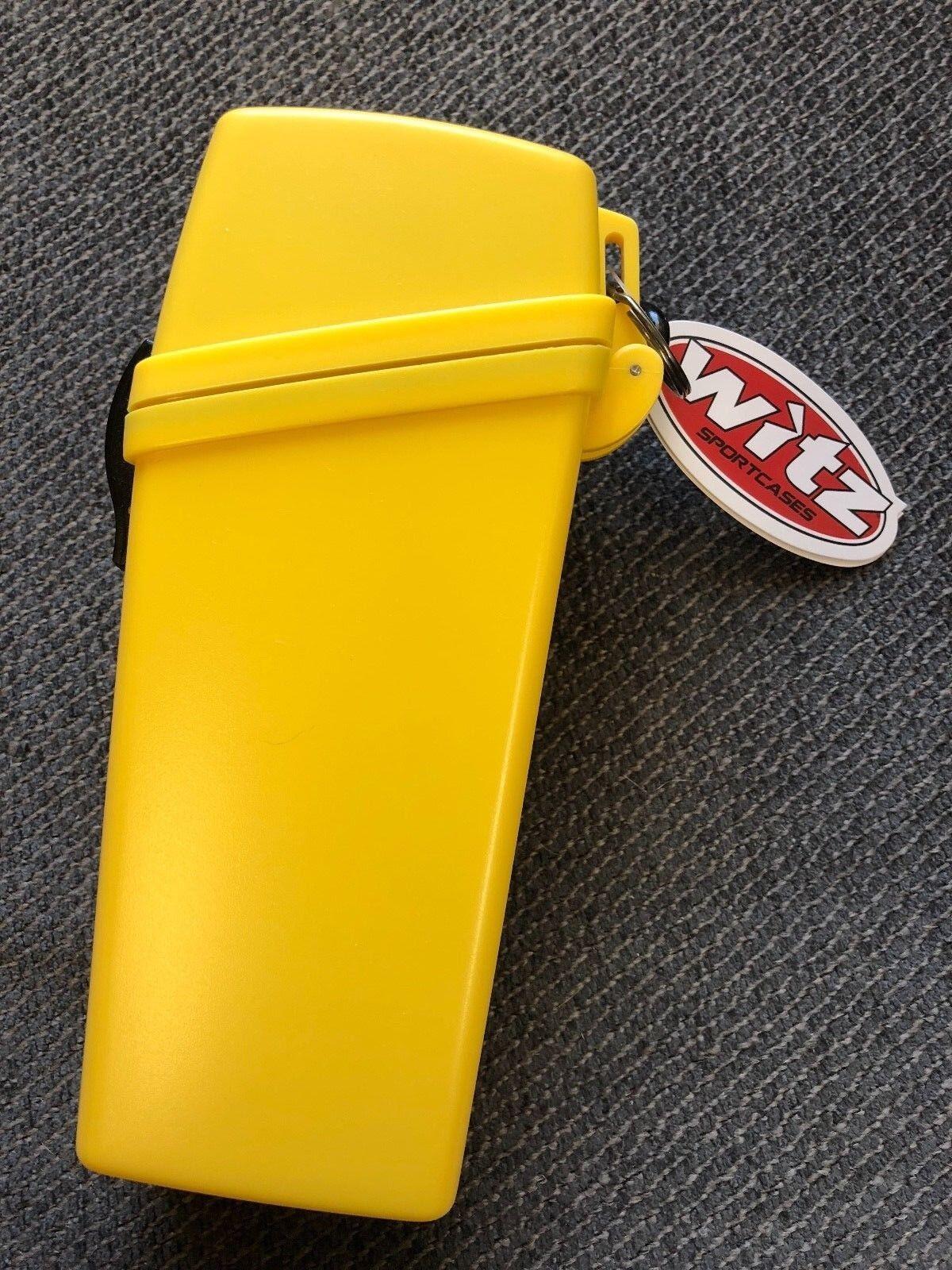 Witz GPS dry box rafting kayaking equipment diving yellow  w