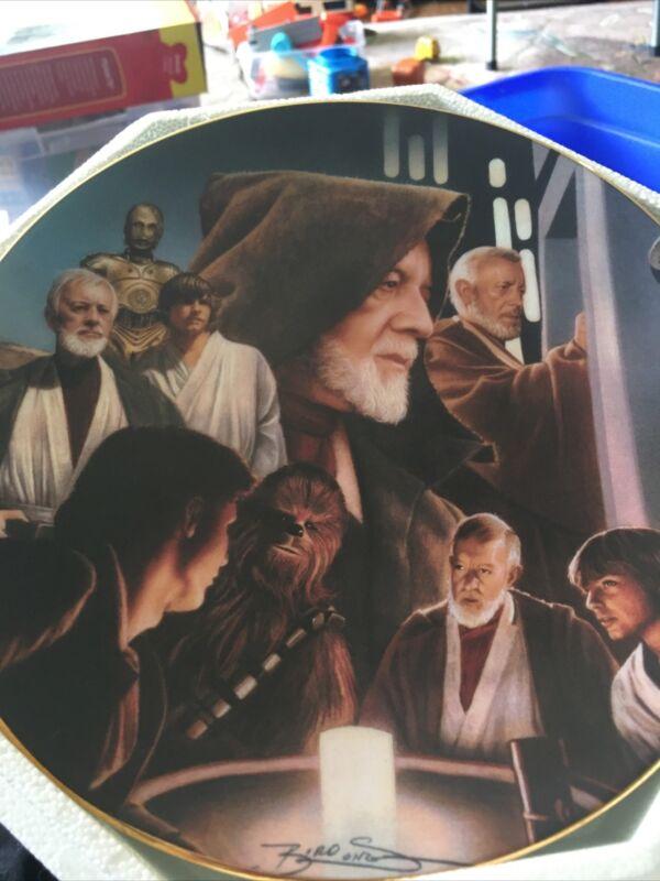 Star Wars Obi Wan Kenobi Hamilton collector plate