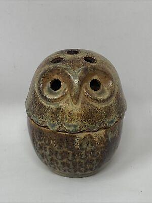 Vintage Boho Retro Japan Made OWL Incense Burner ? Mid Century Modern
