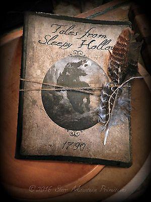 Halloween Sleepy Hollow (Primitive Halloween Sleepy Hollow Headless Horseman Journal Cupboard Tuck)