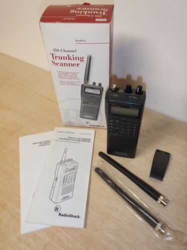 Radio Shack Pro-91 150 Channel Handheld Trunking Scanner