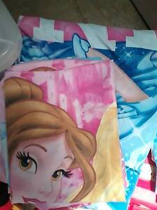 Disney princesses double bed doona cover set Golden Beach Caloundra Area Preview